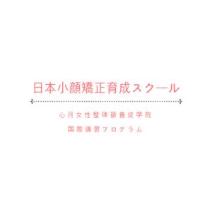 日本小顔矯正育成スクール 心月女性整体師養成学院 国際講習プログラム
